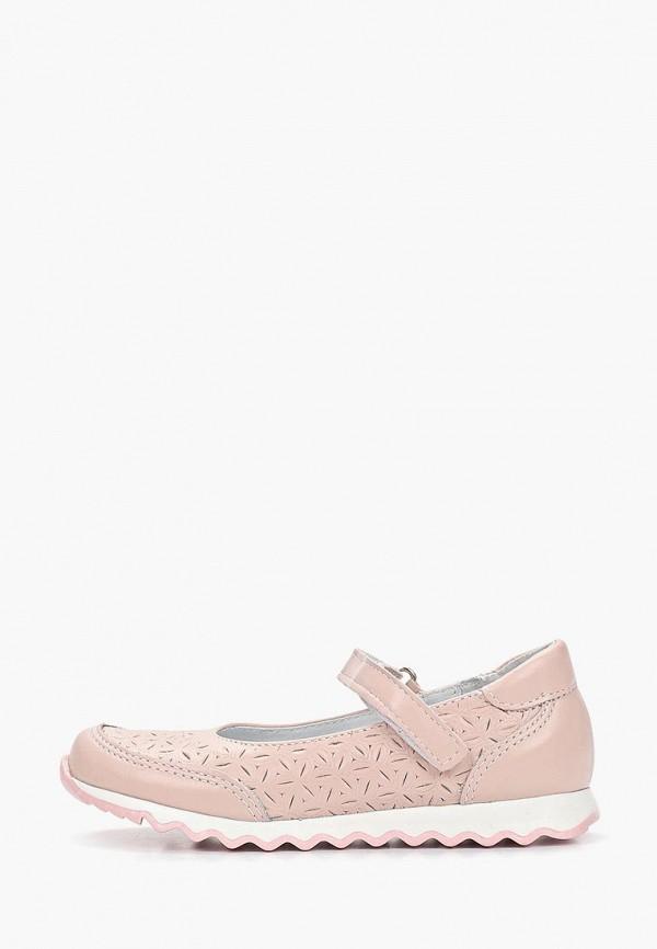 туфли юничел для девочки, розовые