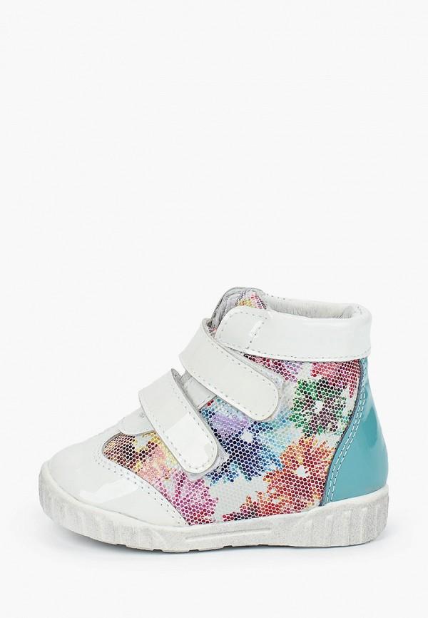 ботинки юничел для девочки, белые