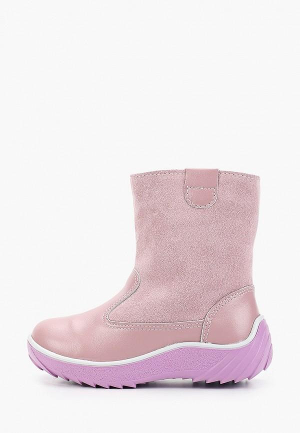 сапоги юничел для девочки, розовые