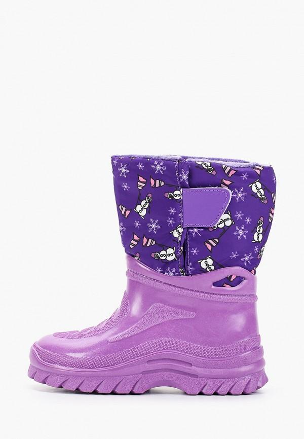 дутики юничел для девочки, фиолетовые