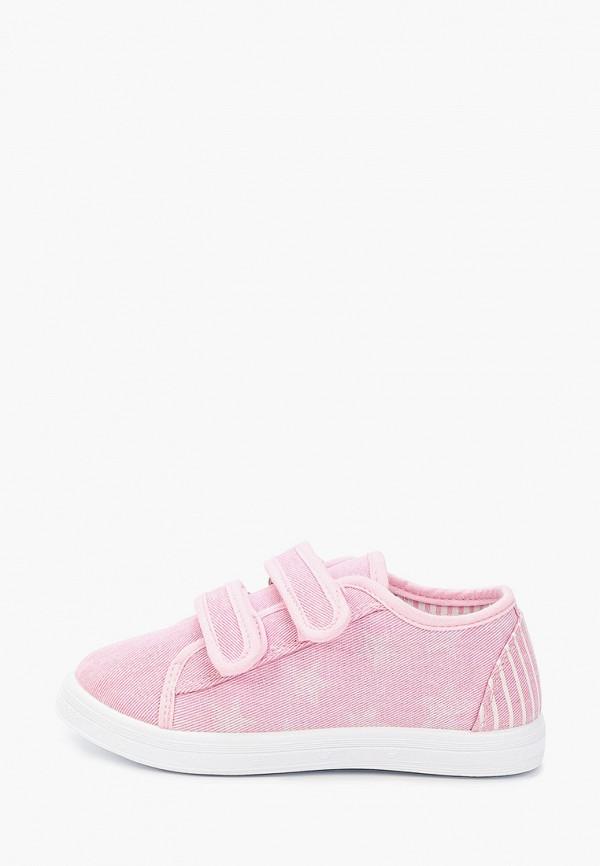 кеды юничел для девочки, розовые