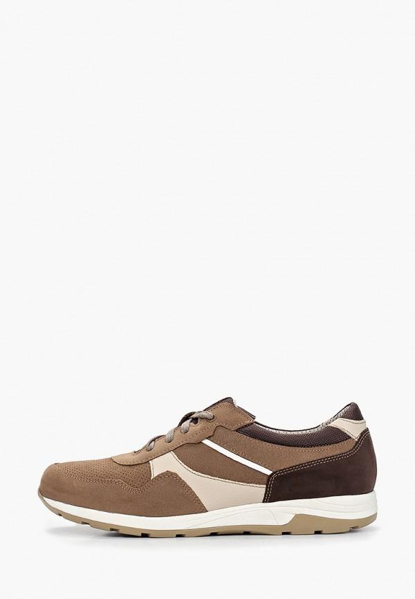 мужские кроссовки юничел, коричневые