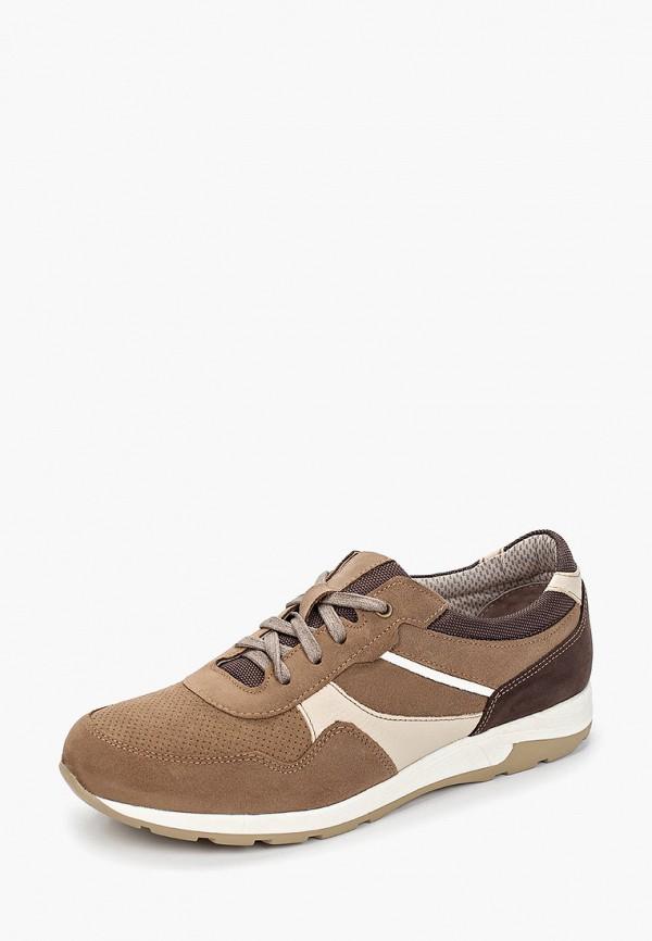 Фото 2 - мужские кроссовки Юничел коричневого цвета