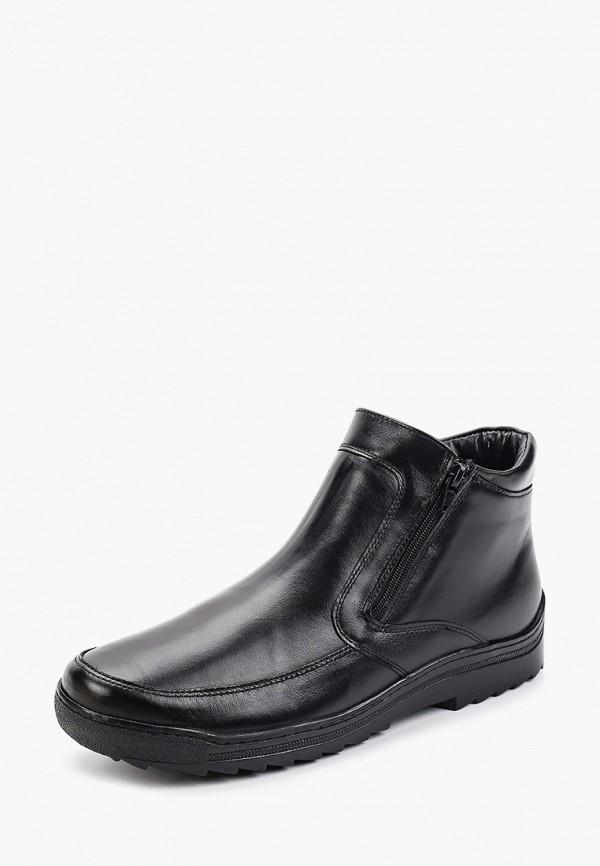 Фото 2 - Мужские ботинки и полуботинки Юничел черного цвета