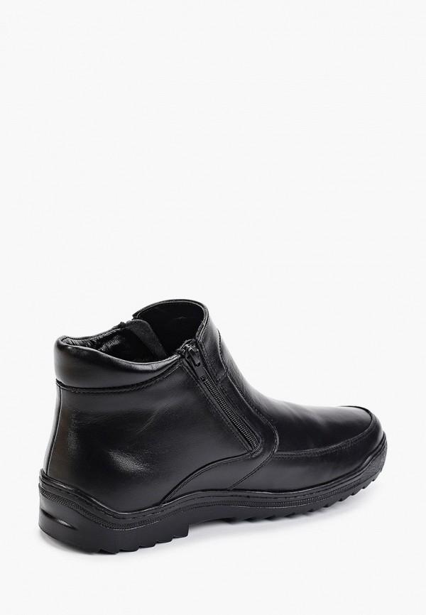 Фото 3 - Мужские ботинки и полуботинки Юничел черного цвета