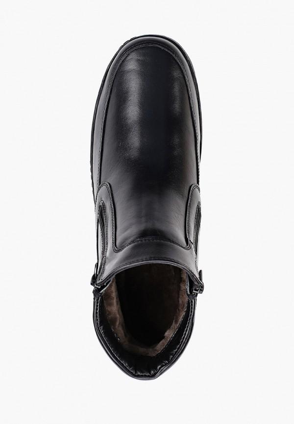 Фото 4 - Мужские ботинки и полуботинки Юничел черного цвета