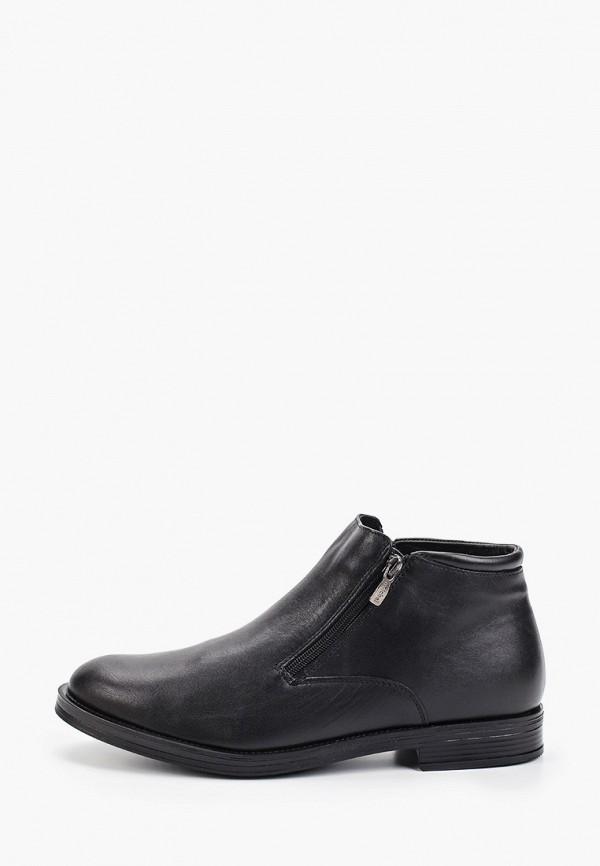 Фото - Мужские ботинки и полуботинки Юничел черного цвета
