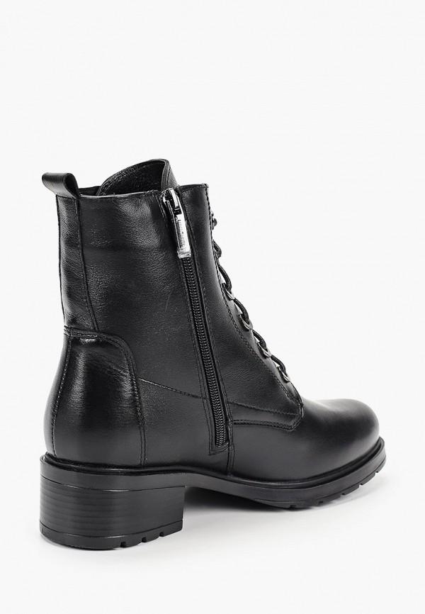 Фото 3 - Женские ботинки и полуботинки Юничел черного цвета