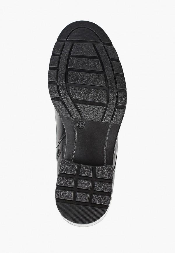 Фото 5 - Женские ботинки и полуботинки Юничел черного цвета