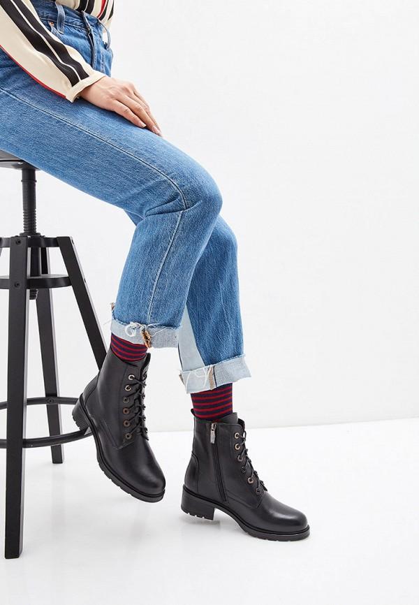 Фото 6 - Женские ботинки и полуботинки Юничел черного цвета