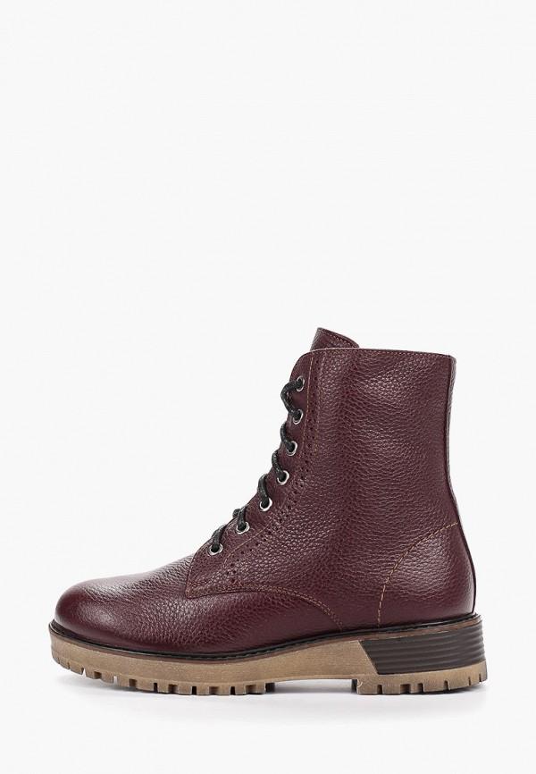 Фото - Женские ботинки и полуботинки Юничел бордового цвета