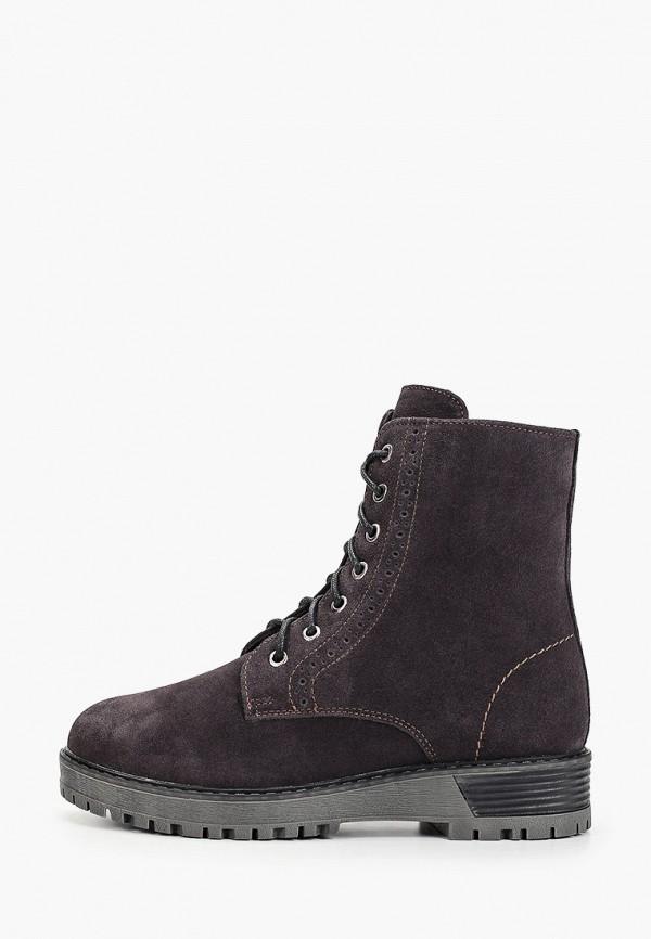 Фото - Женские ботинки и полуботинки Юничел коричневого цвета