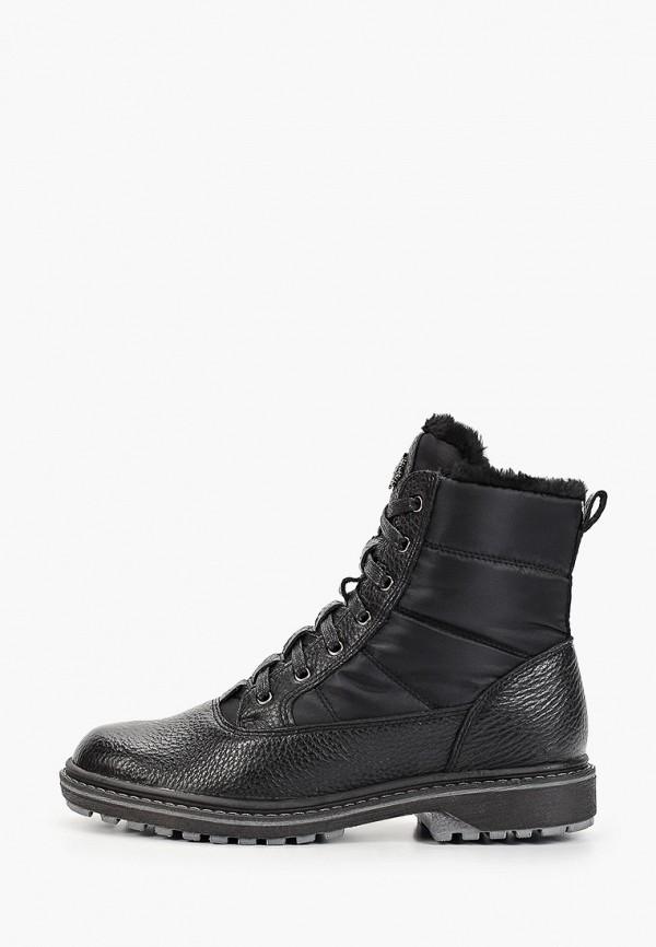 Фото - Женские ботинки и полуботинки Юничел черного цвета