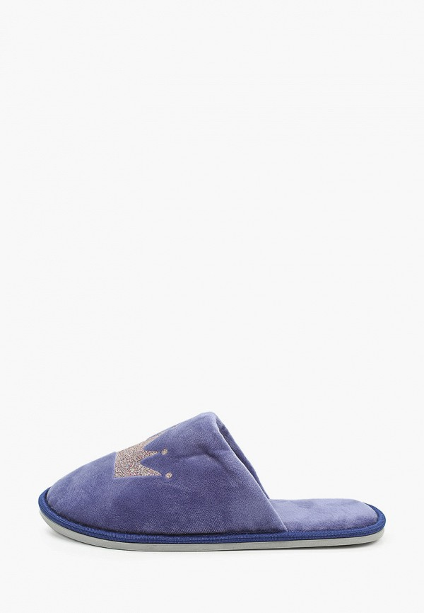 женские тапочки юничел, синие