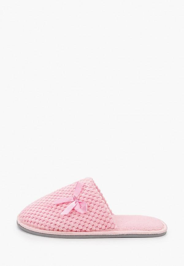 женские тапочки юничел, розовые