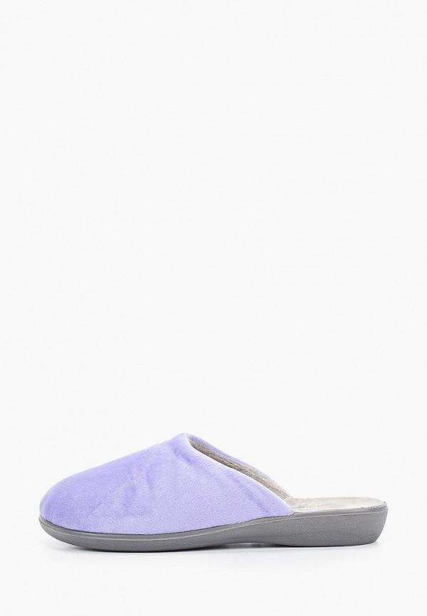 женские тапочки юничел, фиолетовые