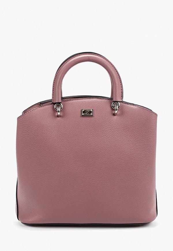 женская сумка zarina, розовая