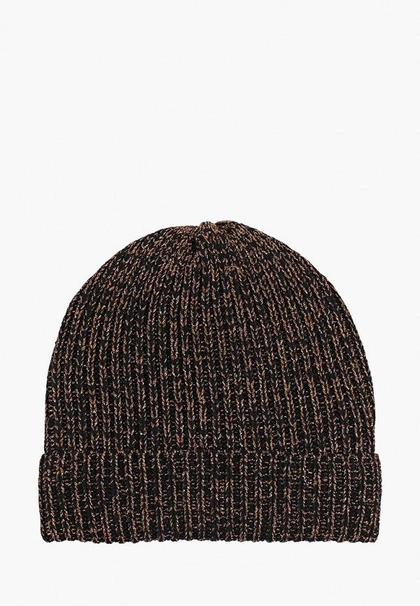 женская шапка zarina, черная