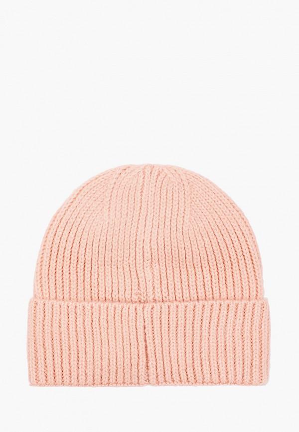 Фото 2 - женскую шапку Zarina розового цвета