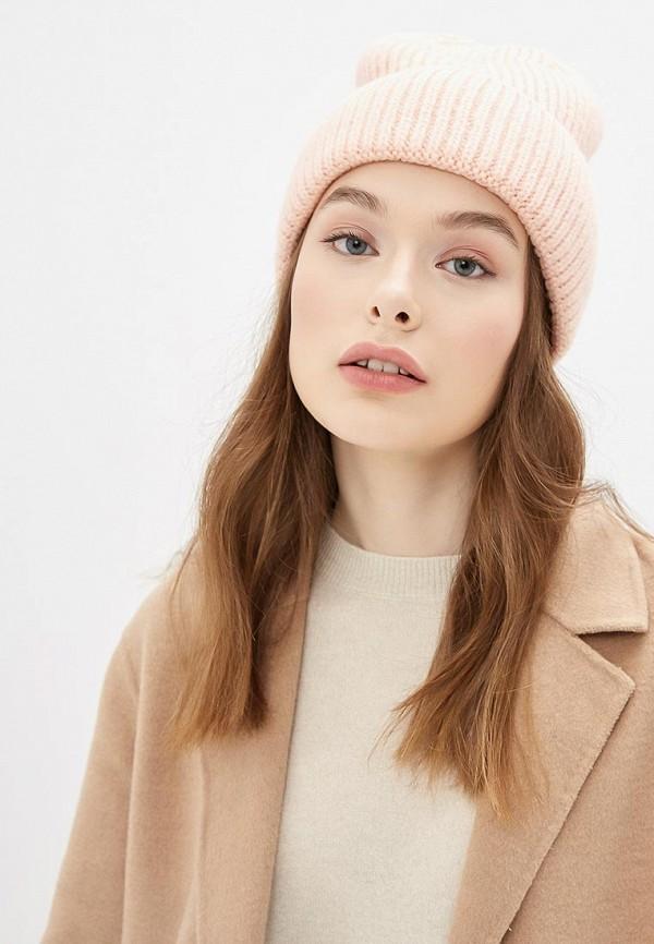 Фото 3 - женскую шапку Zarina розового цвета
