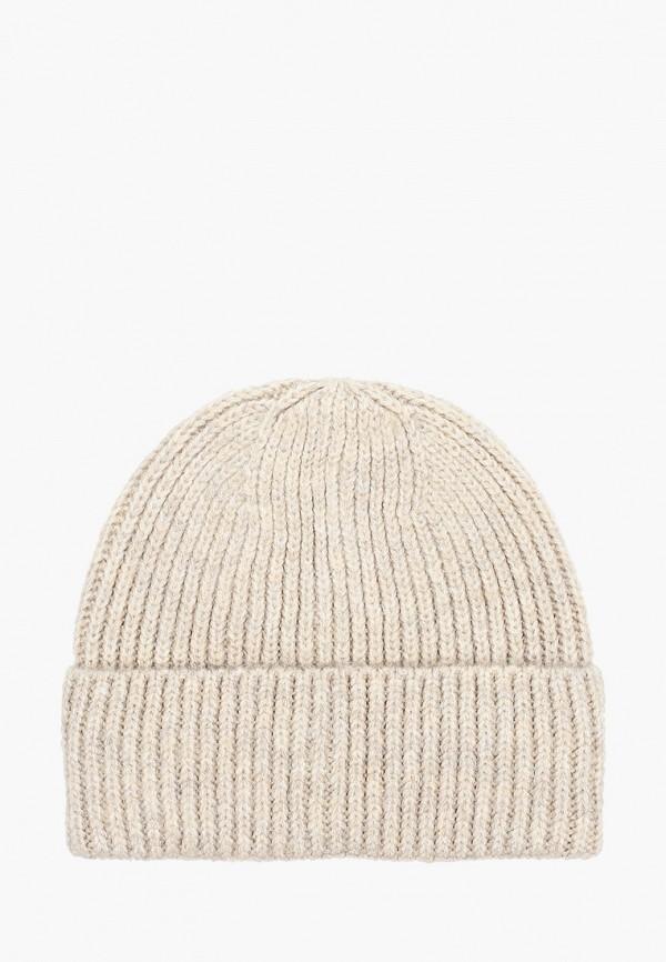 женская шапка zarina, бежевая