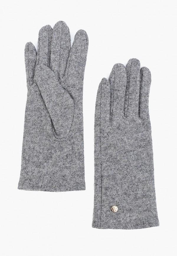 женские перчатки zarina, серые