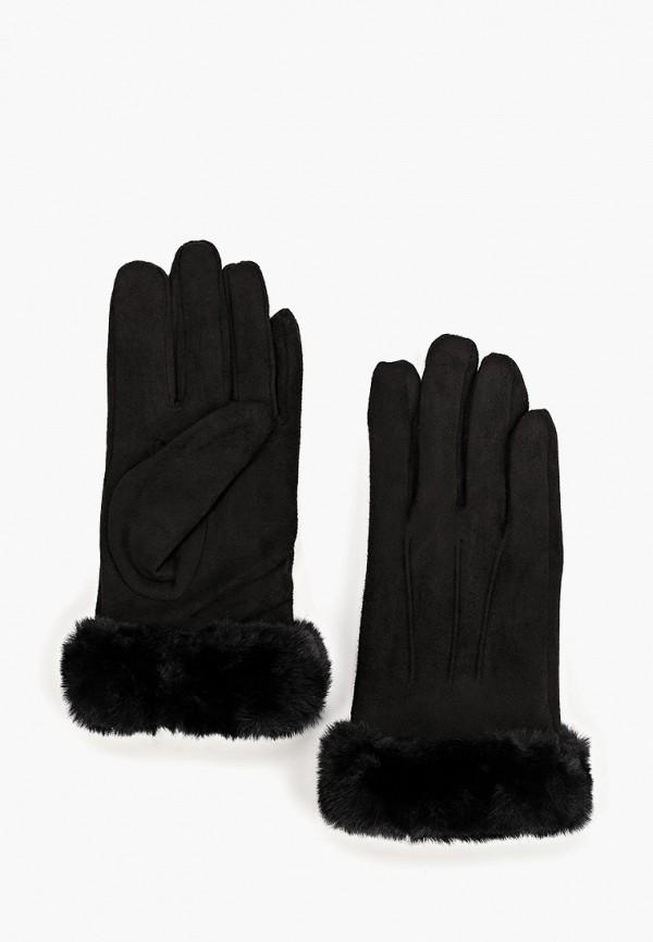женские перчатки zarina, черные