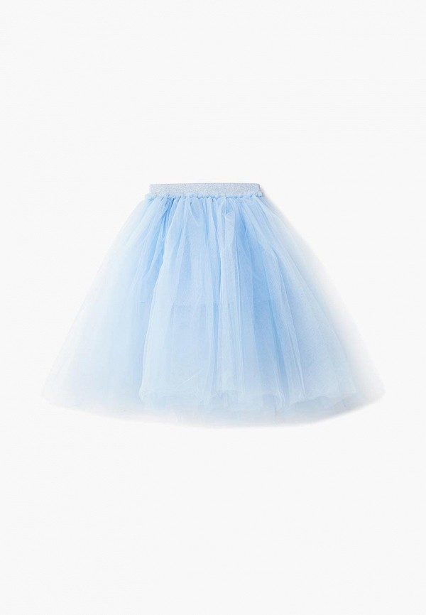 юбка zarina для девочки, голубая