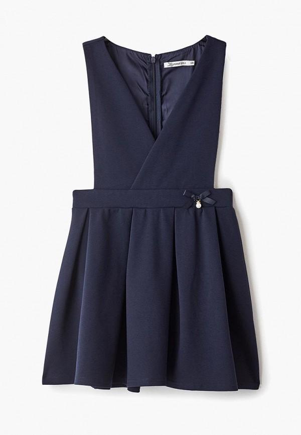 повседневные платье zarina для девочки, синее