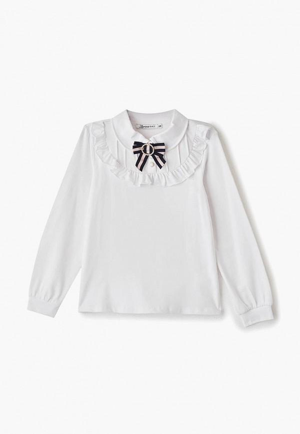 блузка zarina для девочки, белая