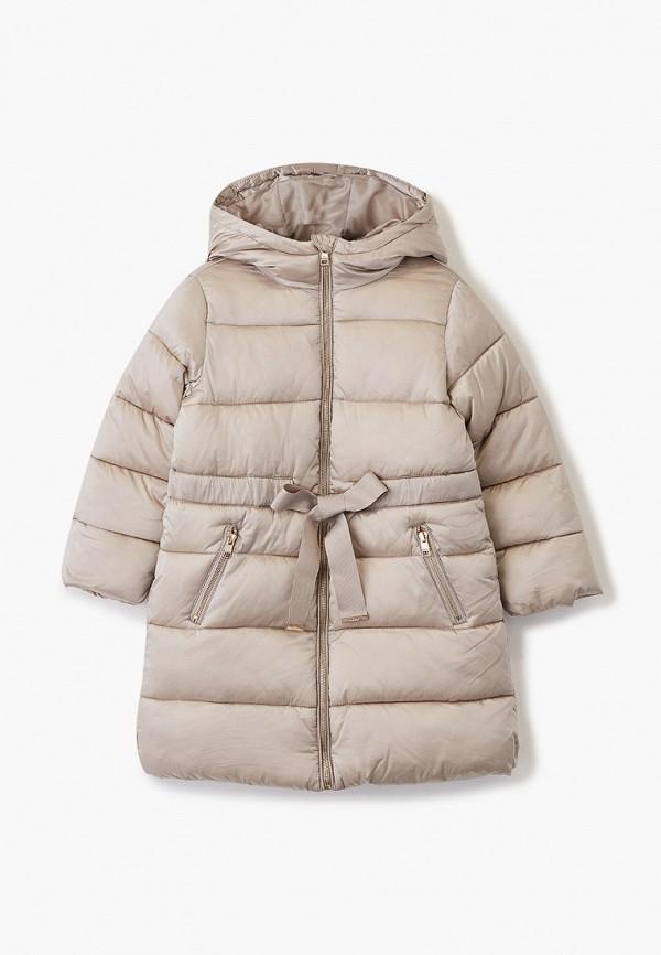 куртка zarina для девочки, бежевая