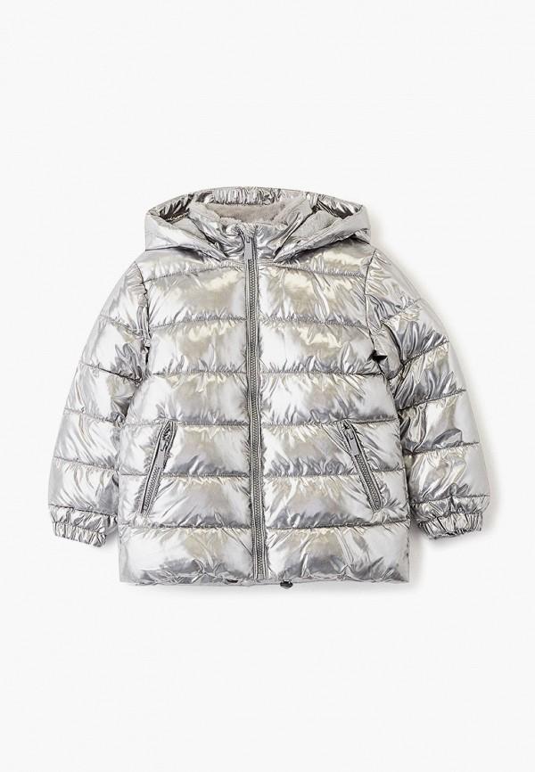 куртка zarina для девочки, серая