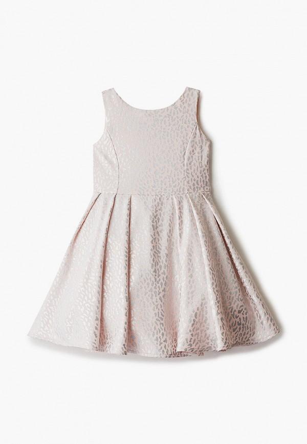 платье zarina для девочки, розовое