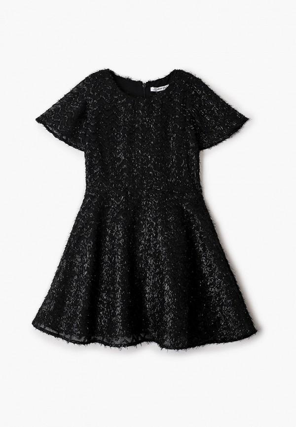 платье zarina для девочки, черное