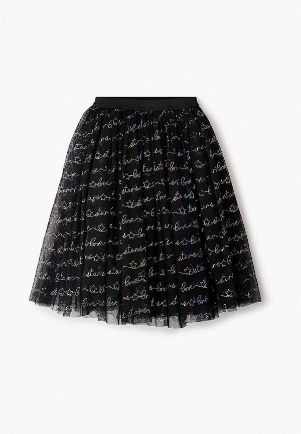 юбка zarina для девочки, черная