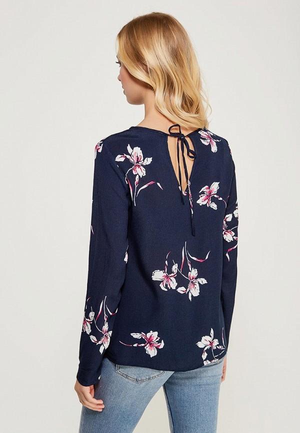 Фото 6 - женскую блузку Zarina синего цвета
