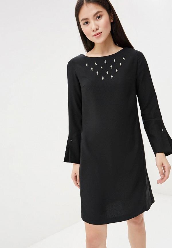 Платье Zarina Zarina ZA004EWABTZ4 футболка женская oodji ultra цвет черный кремовый 14701005 7 46147 2930f размер s 44