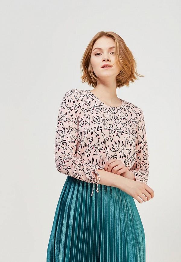 Купить Блуза Zarina, ZA004EWABUD2, розовый, Весна-лето 2018