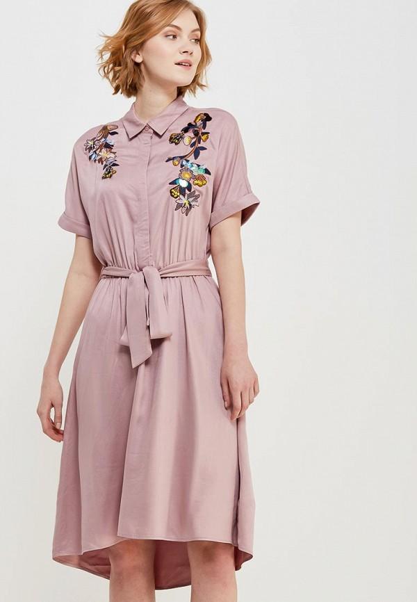 Купить Платье Zarina, za004ewabul7, розовый, Весна-лето 2018