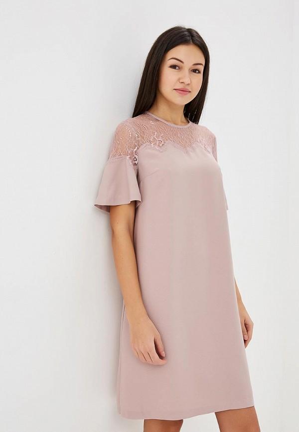 Купить Платье Zarina, ZA004EWABUM0, розовый, Весна-лето 2018