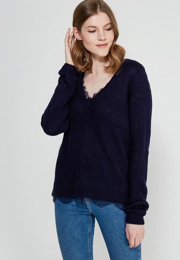 Фото - женский пуловер Zarina синего цвета