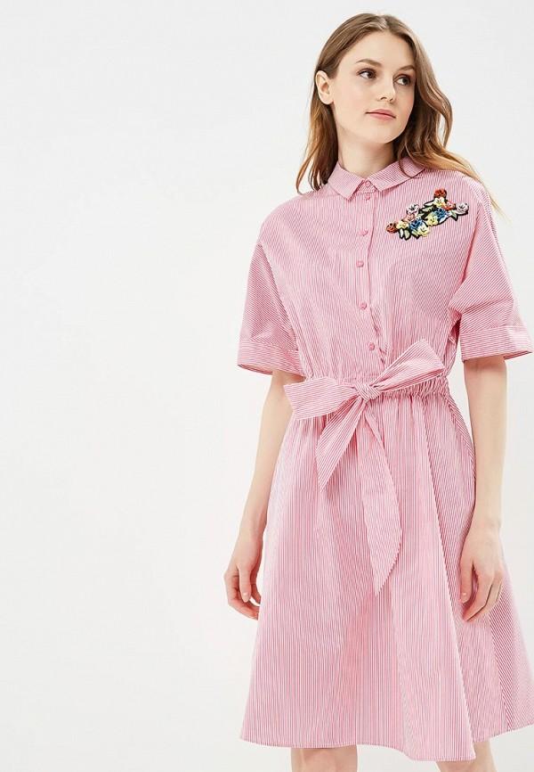 Купить Платье Zarina, za004ewazng5, розовый, Весна-лето 2018