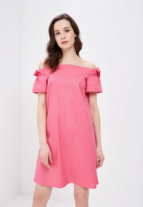 Купить Платье Zarina, ZA004EWAZOA6, розовый, Весна-лето 2018