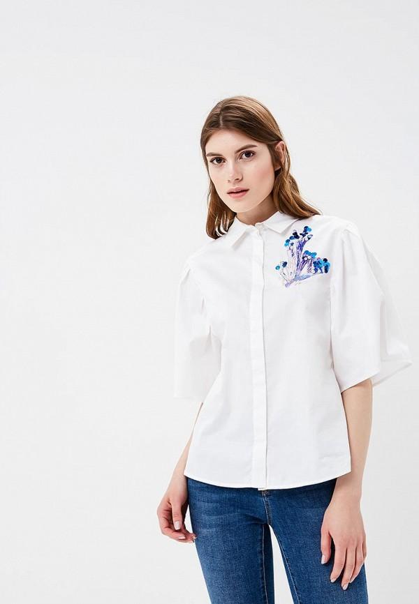 Рубашка Zarina, ZA004EWAZOK9, белый, Весна-лето 2018  - купить со скидкой