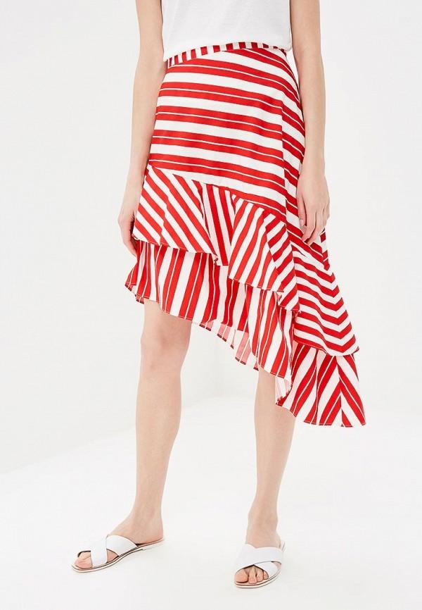 женская юбка zarina, красная
