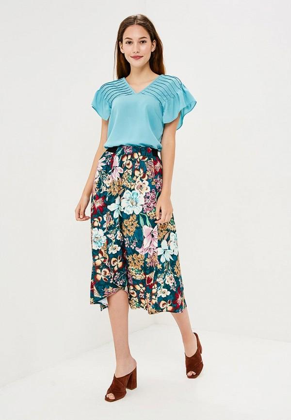 Фото 2 - женскую юбку Zarina разноцветного цвета