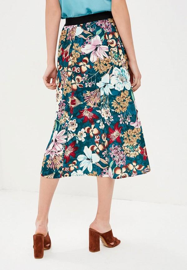 Фото 3 - женскую юбку Zarina разноцветного цвета