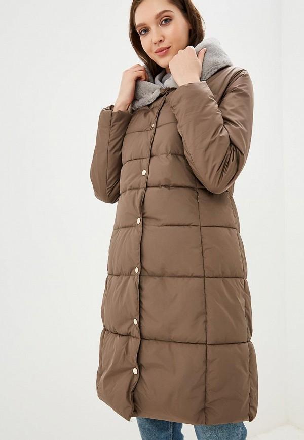 женская куртка zarina, коричневая
