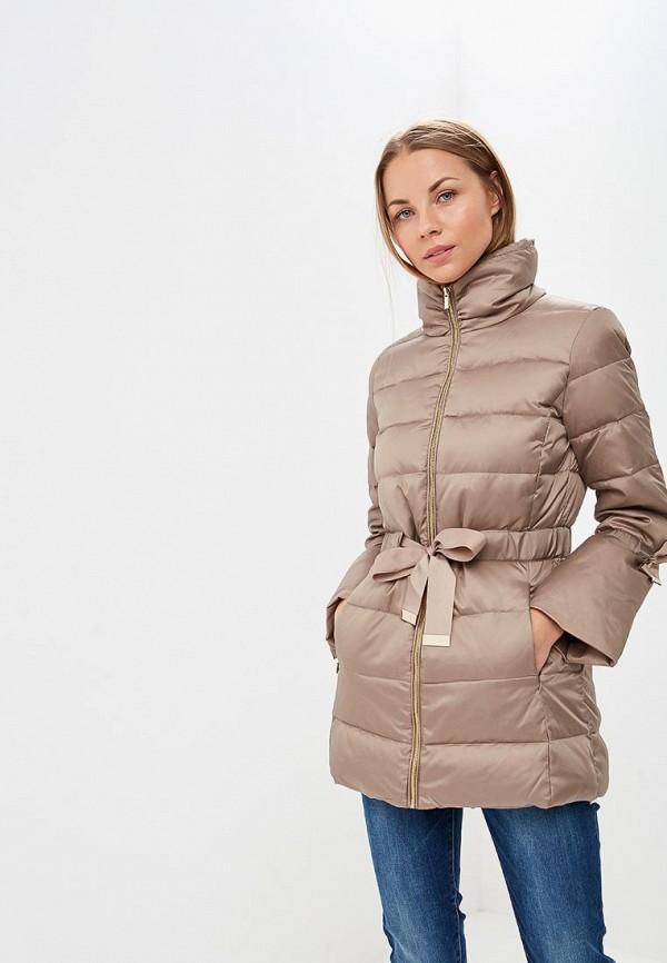 Купить Пуховик Zarina, ZA004EWCSSG5, бежевый, Осень-зима 2018/2019