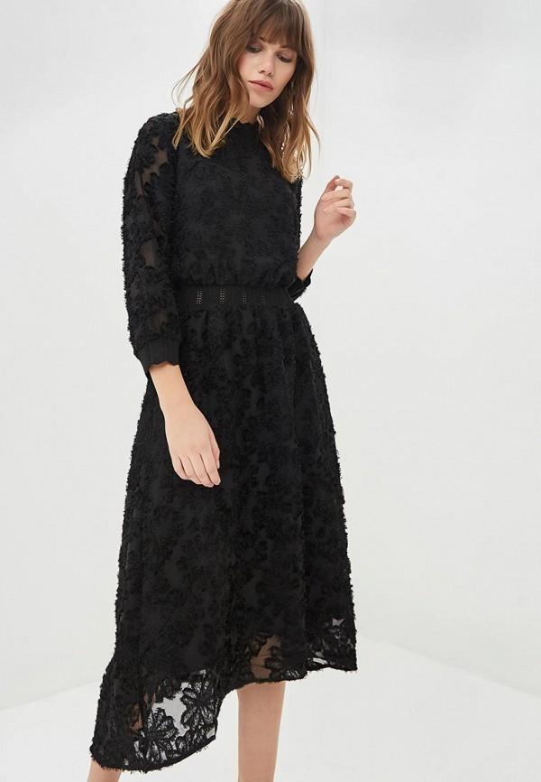Купить Платье Zarina, za004ewcssh8, черный, Осень-зима 2018/2019